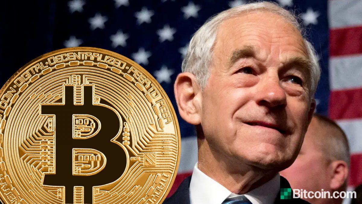 Ron Paul quiere que Bitcoin esté completamente legalizado para competir con el dólar y dejar que la gente decida