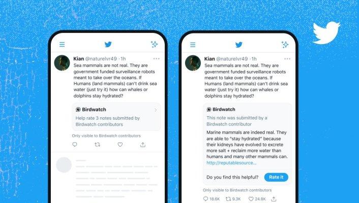 Twitter comienza a implementar verificaciones de hechos de Birdwatch en tweets – TechCrunch