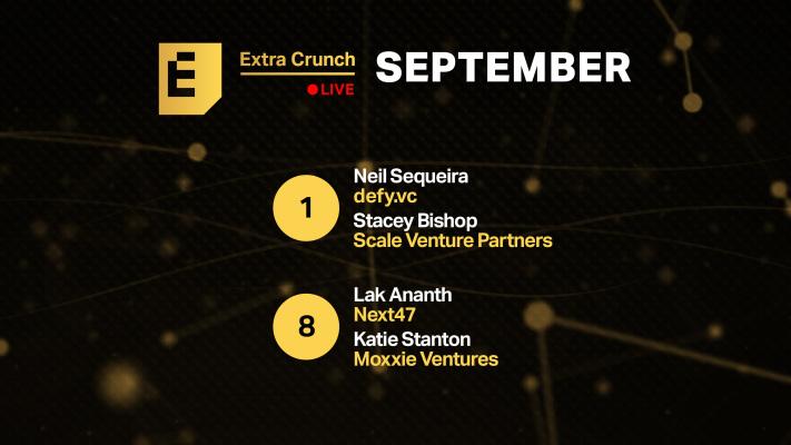 Comience con nuestras empresas Disrupt Startup Alley en los próximos episodios de Extra Crunch Live – TechCrunch
