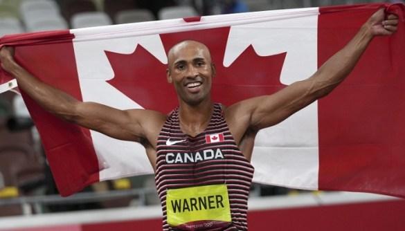 Damian Warner, el atleta más completo de los Juegos Olímpicos Tokio 2020