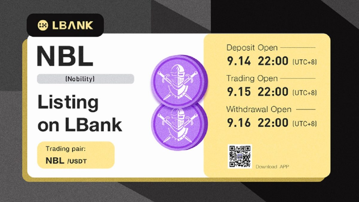 LBank Exchange Lists NBL (Nobleza) – Comunicado de prensa de Bitcoin News