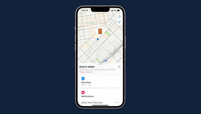 La nueva billetera MagSafe de Apple funciona con la aplicación 'Find My' cuando falta