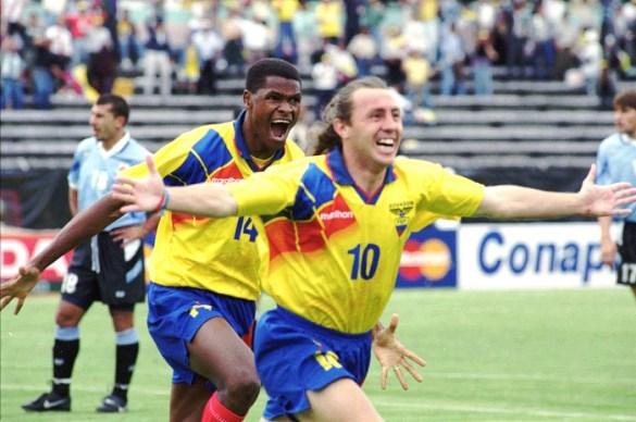 Los 10 mejores futbolistas de Ecuador de todos los tiempos