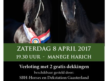 Hengstenshow 8 april 2017