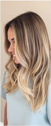 bronde hair color idea