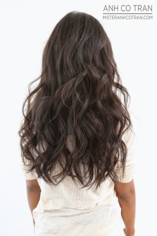 sexy brunette hair color and style