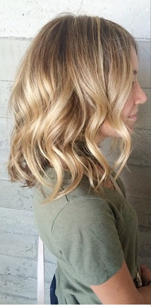 shoulder length blonde bob hairstyles
