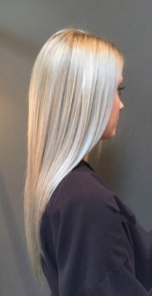 silver blonde hair color