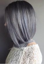 silver blue gray hair
