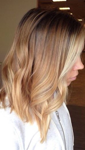 butter pecan balayage highlights