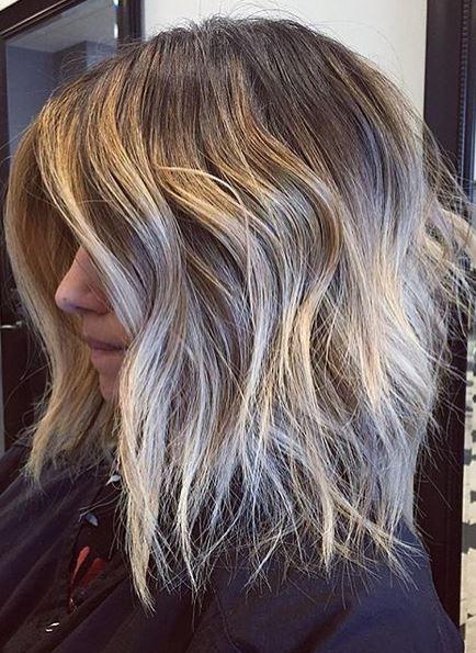 hair envy - bronde ombre on short hair