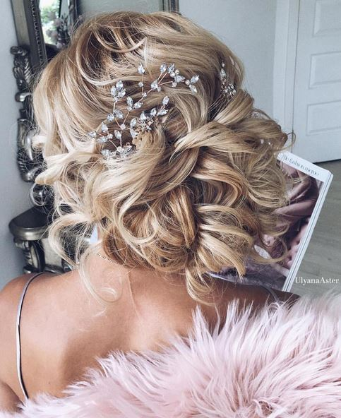 amazing bridal updo inspiration