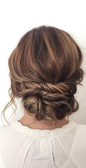 bridal updo inspiration - wedding hair