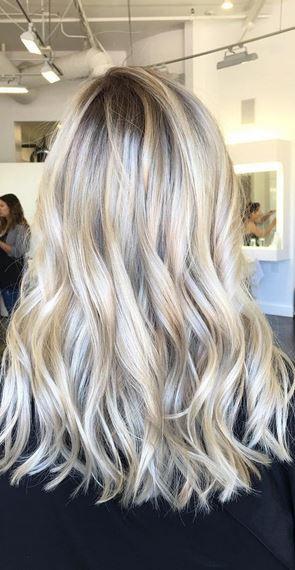 blonde babylights