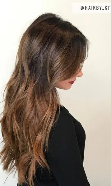light-brown-brunette-highlights