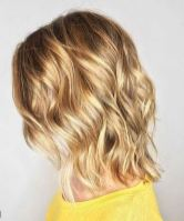 warm blonde hair color