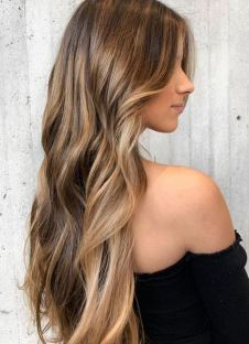 beautiful sunkissed highlights