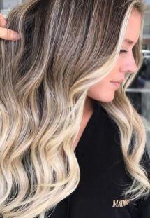 face framing blonde highlights
