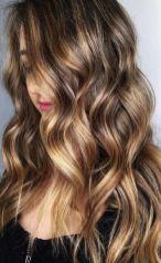 golden brunette hair color