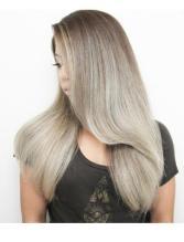 ash ombre hair color