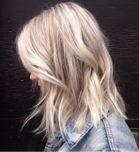 Cool Toned & Textured Blonde  Mane Interest