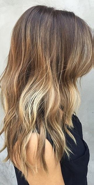 summer brunette ombre mane interest