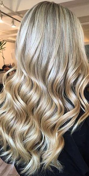 classic golden blonde highlights