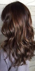 espresso brunette hair color idea