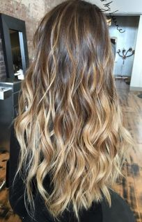 amazing balayage hair color
