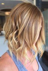 balayage on strawberry blonde hair