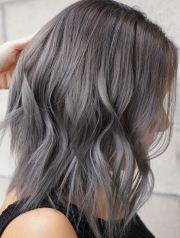 gray hair mane interest