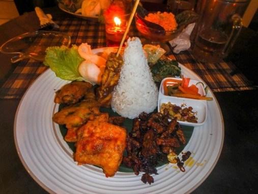 Nasi Campur cuisine bali