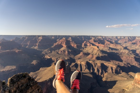 Faire des photos de voyage - Grand canyon
