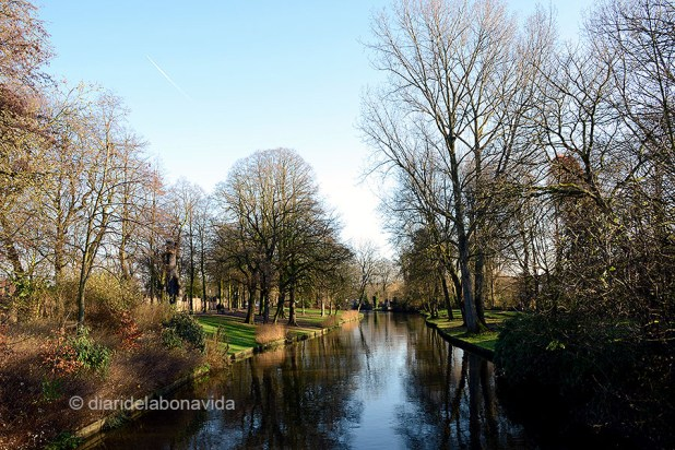 Canals i parcs, una bona combinació
