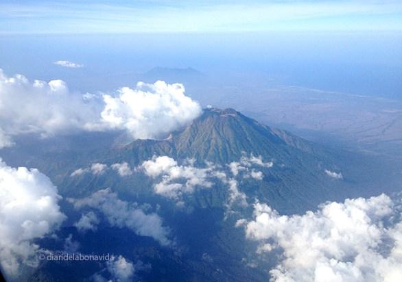 Vistes aèries de l'illa de Java