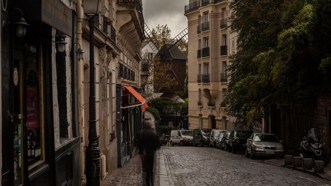 Ghost on street by Manemos