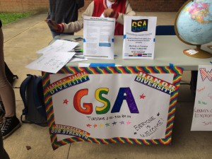 GSA is a club at Foran HS. New members are encouraged to join. Photo courtesy of Alyssa Fameli