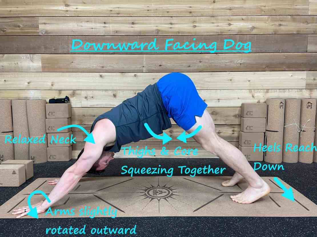 How to Get Rid of Tech Neck with Yoga - Downdog