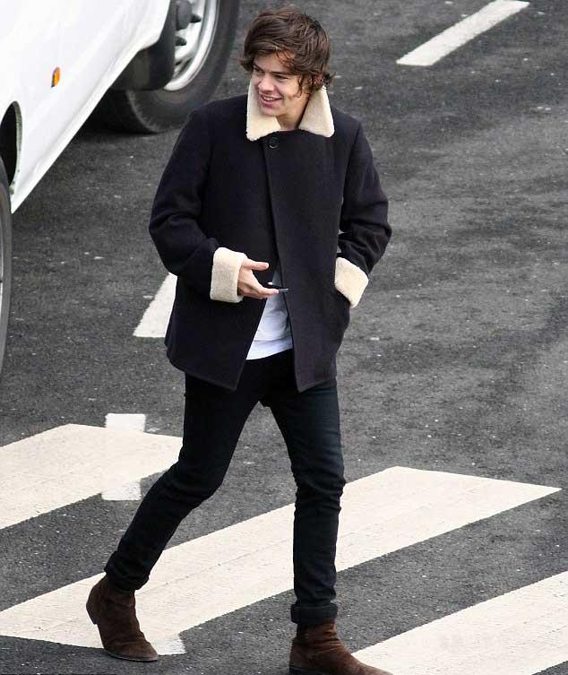 Harry Styles in Alexander McQueen