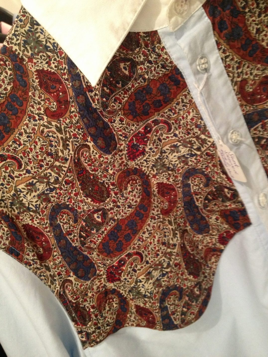 Martine Rose | £130 | Paisley Shirt