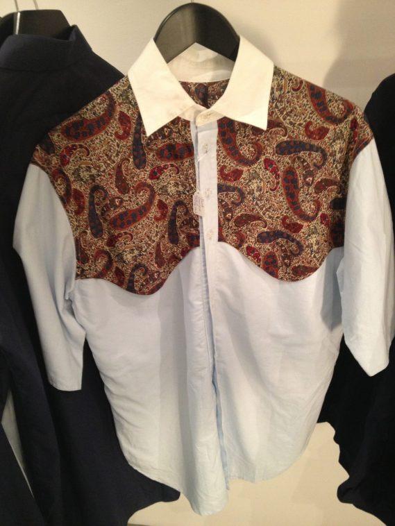 Martine Rose | £130 | Paisley Shirt