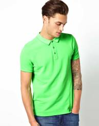 ASOS-Neon-Green-Polo-Shirt