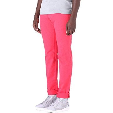 D-Squared-Pink-Neon-Coloured-Jeans