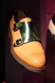 Jimmy-Choo-LCM-SS14-Presentation-Tan-Leather-Shoes-Camouflage-Buckle-Fastening