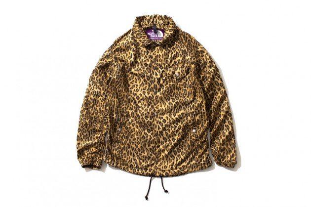 The-North-Face-Purple-Label-2013-Leopard-Print-Wind-Cheater