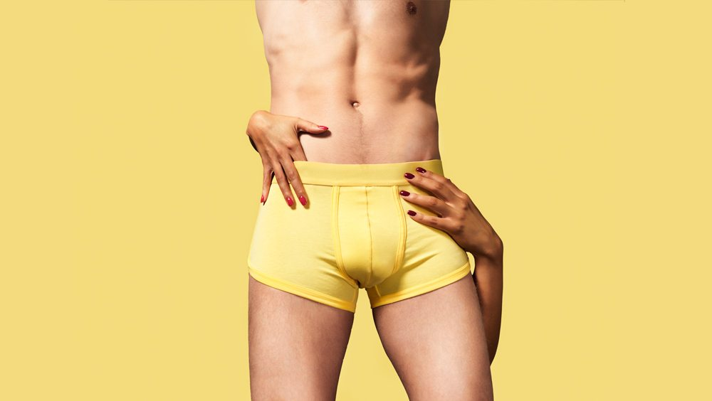 Kim Denzler - Men's Boxer Briefs - Golden Shower
