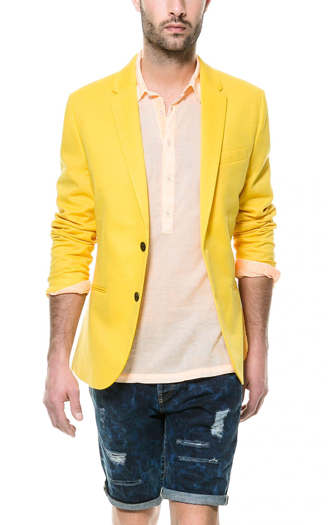 Zara_Yellow_Blazer
