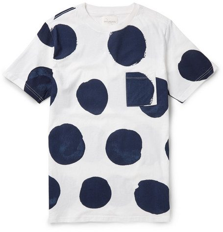 Saturdays-Surf-NYC-Randall-Polka-Dot-Mens-TShirt