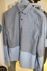 Bershka-SS14-Blue-Navy-Denim-Shirt
