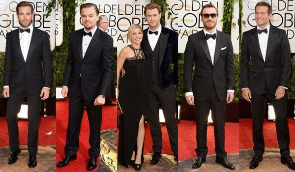 Best Dressed Men | Golden Globes 2014
